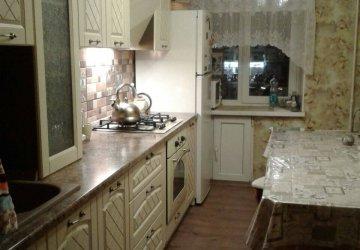 Фото статьи Классическая кухня с крашенными фасадами, с патиной (2018г.)