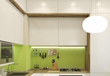 Фото статьи Кухня с антресолями или же тайная кладовая?