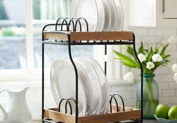 Фото статьи Сушка для кухни — как выбрать?