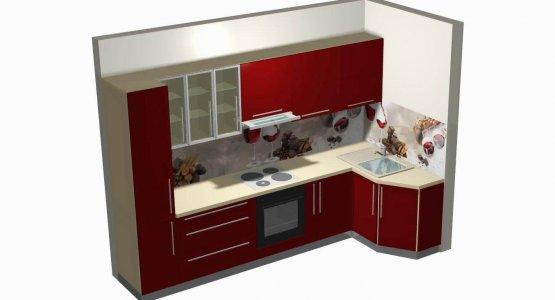 Фото работы Проект кухни № 13