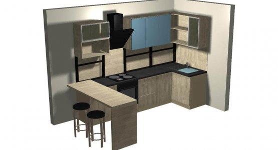 Фото проекта кухни Проект кухни №9