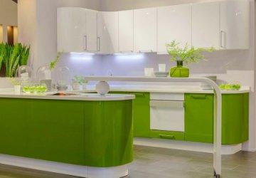 Фото статьи Купить акриловую кухню — цена шика, блеск, красоты
