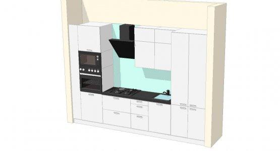 Фото проекта кухни Проект кухни №7