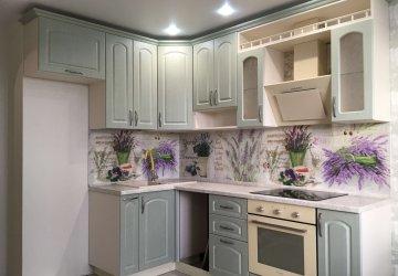 Кухня с фасадами МДФ+ПВХ классическая фото