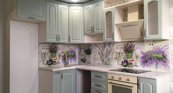 Фото работы Кухня с фасадами МДФ+ПВХ классическая