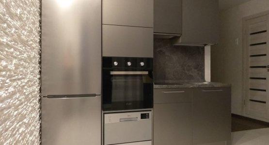 Фото работы Кухня с фасадами «AGT» (МДФ+ПВХ+ЛАК) Турция