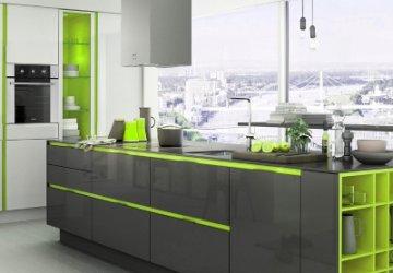 Фото статьи Cовременная кухня — дизайн и преимущества