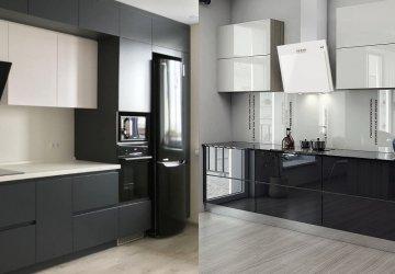 Фото статьи Какая кухня лучше: глянец или матовая?