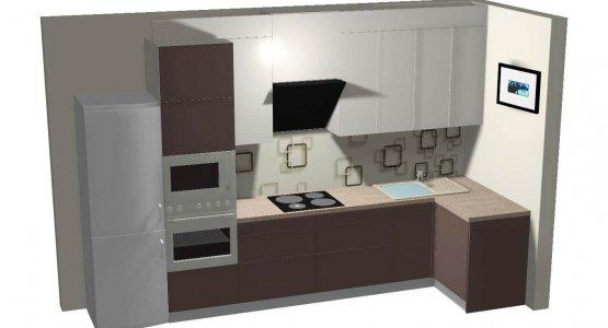 Фото проекта кухни Проект № 17