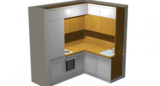 Фото работы Проект кухни №3