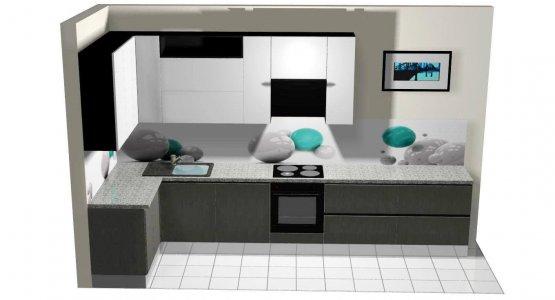 Фото проекта кухни Проект кухни №1
