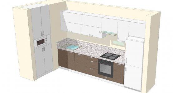 Фото работы Проект кухни №11