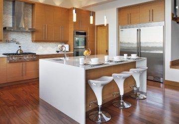 Фото статьи Когда в в кухне можно делать остров