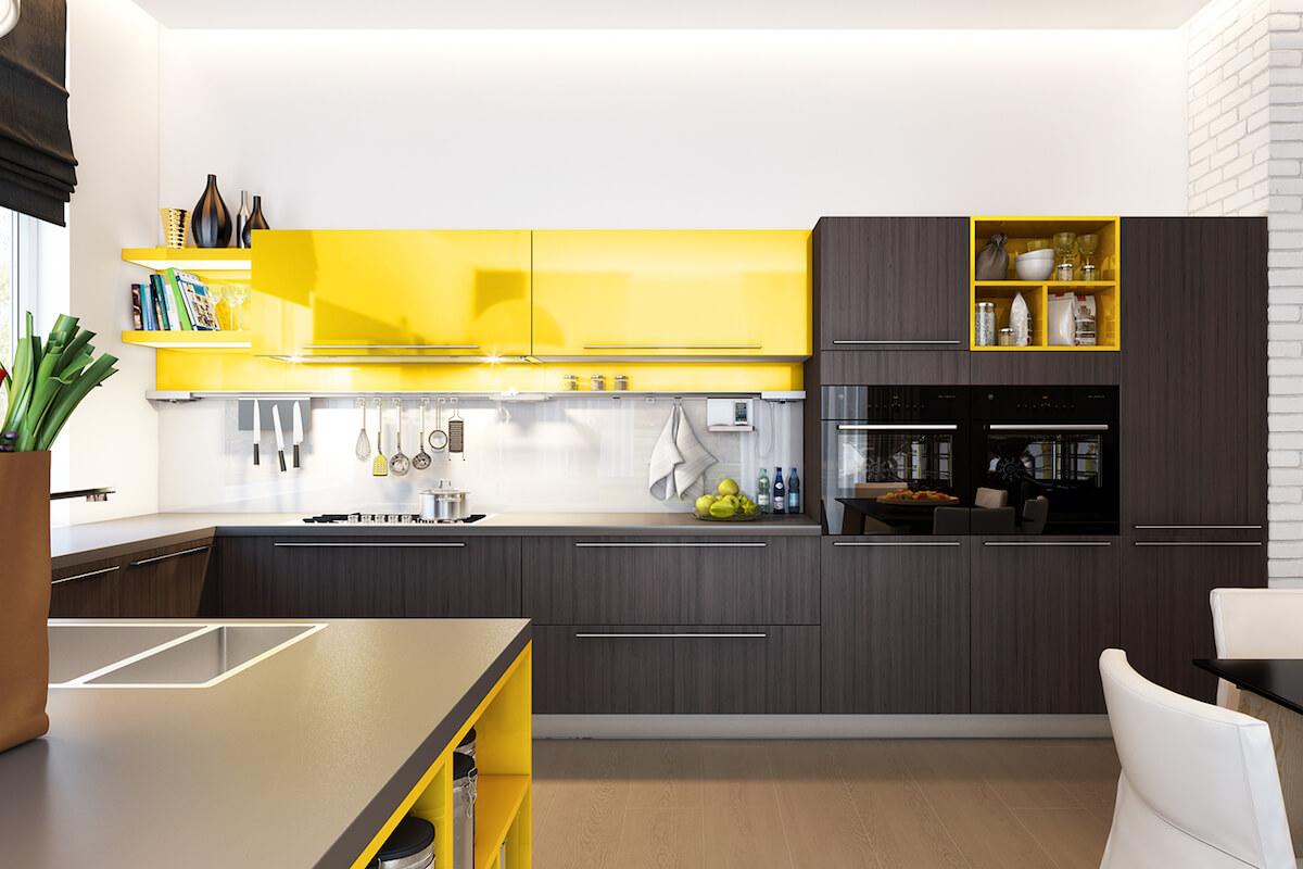 Кухня Джайв в стиле модерн