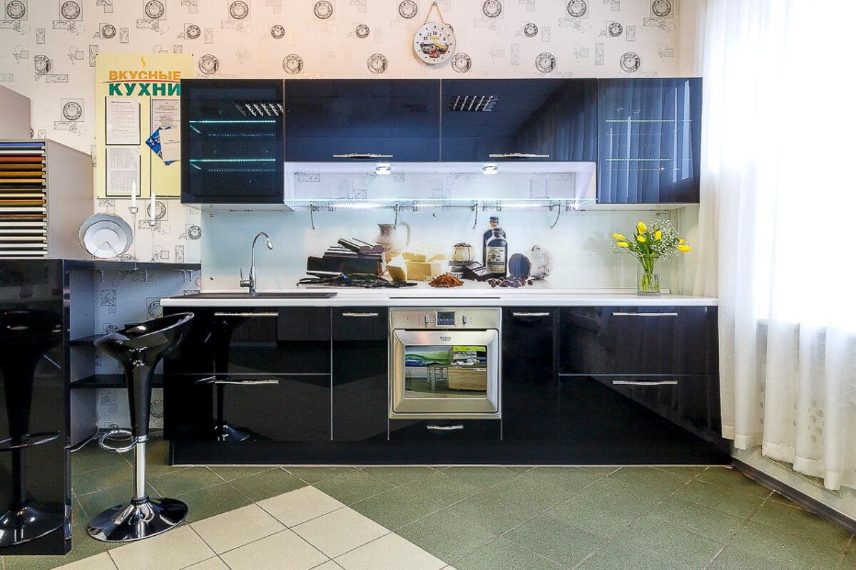 Фото кухни Тренд глянец