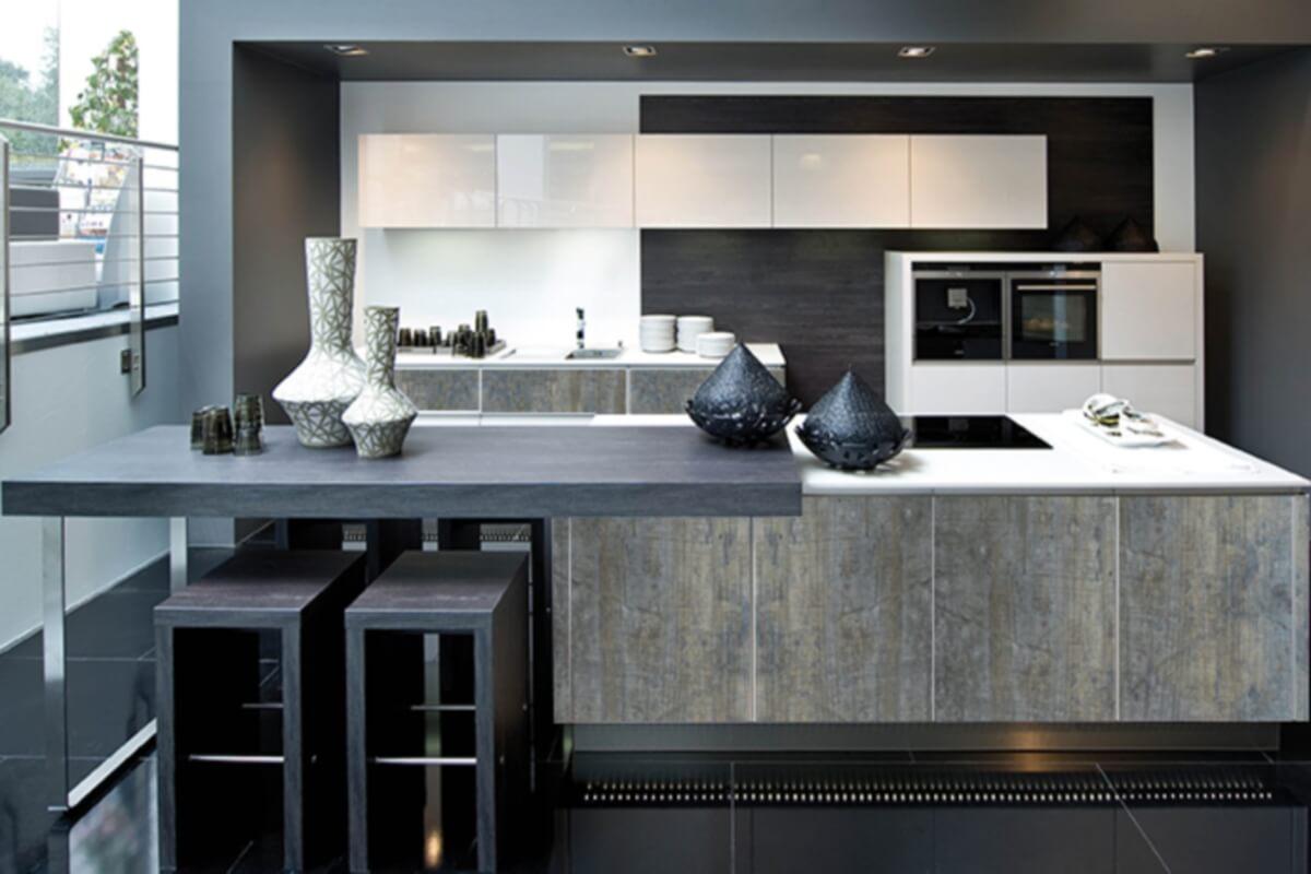 Фото кухни Блек Джек в стиле Лофт