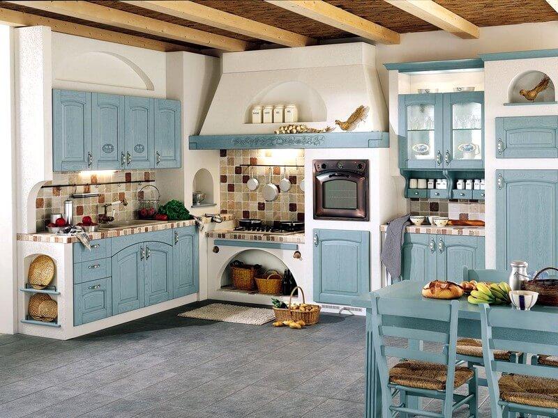 Фото кухни в стиле кантри