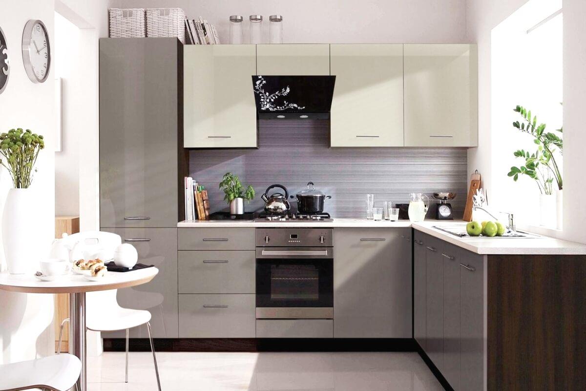 Фото кухни Грей в стиле лофт