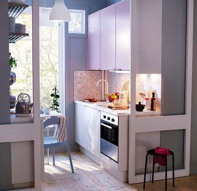 Фото кухни ниши