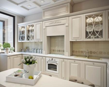 кухня неоклассика купить, стиль гостиной, фото дизайна