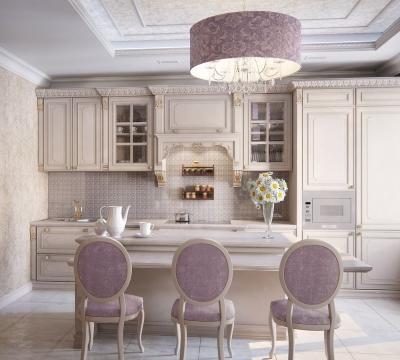 дизайн кухни, фото гостиной