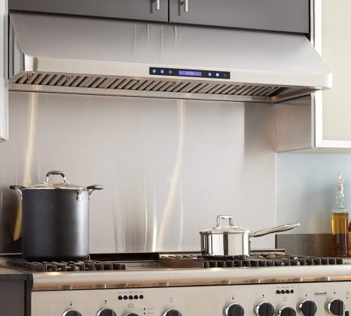 подключите кухонную вытяжку