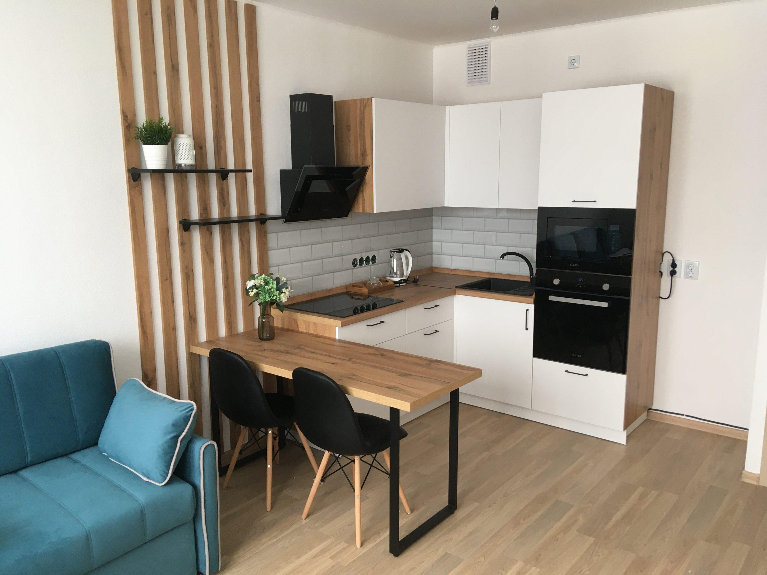 стиль деревянной кухни